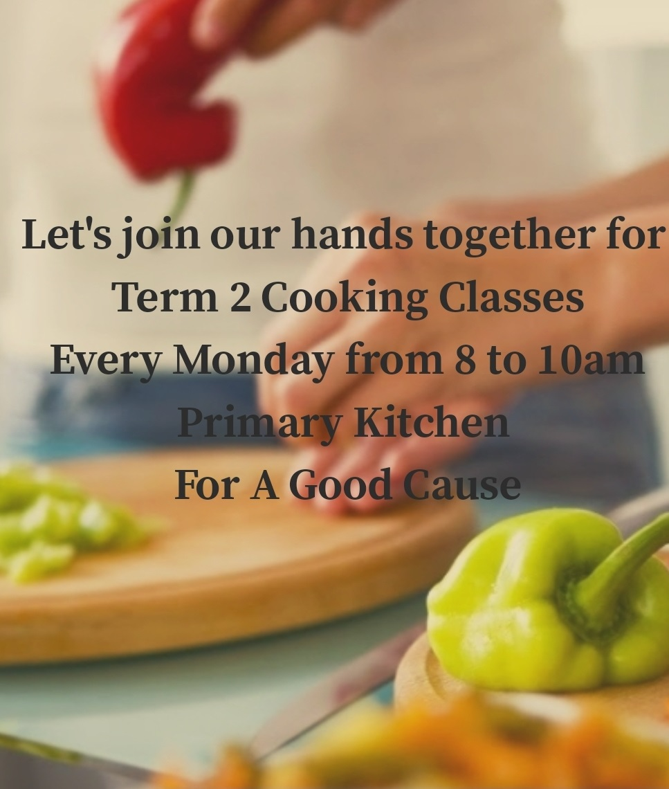 Term 2 Cooking Classes